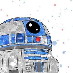 R2D2 Star Wars - Nursery Wall Decor