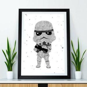 Storm Trooper - Nursery Wall Decor