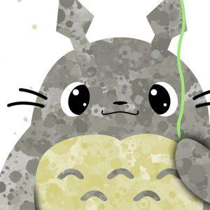 Totoro - Nursery Wall Decor