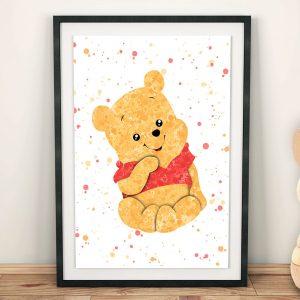 Winnie the Pooh 6 Set - Nursery Wall Decor