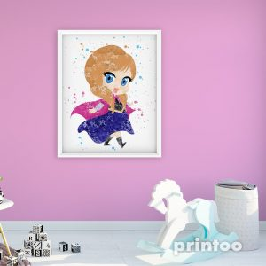 Anna Frozen - Nursery Wall Decor