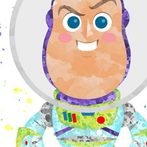 Buzz Toy Story - Nursery Wall Decor