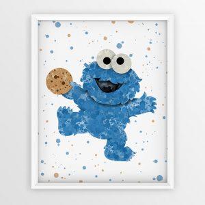 Cookie Monster - Nursery Wall Decor