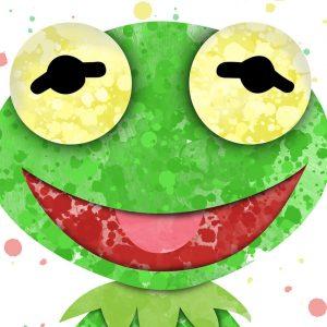 Kermit the Frog - Nursery Wall Decor