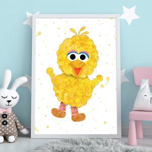 Big Bird Sesamy Street - Wall Decor
