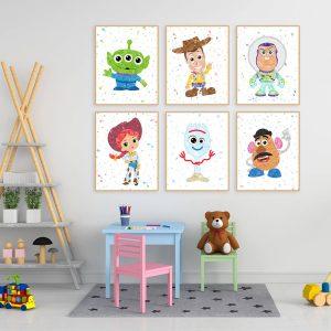 Toy Story 6 Set - Wall Decor