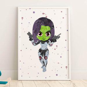 Gamora - Nursery Wall Decor
