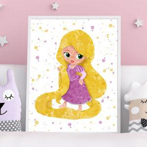 Rapunzel Tangled - Nursery Wall Decor