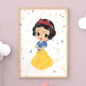 Snow White - Nursery Wall Decor