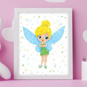 Tinker Bell - Nursery Wall Decor