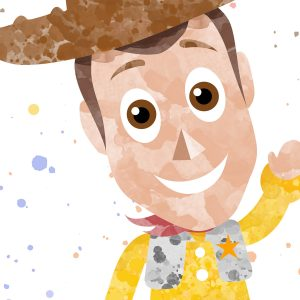 Woody Toy Story - Nursery Decor