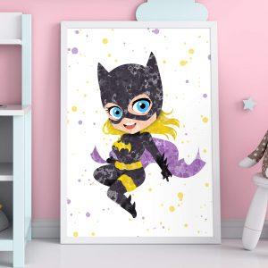 Batwoman - Nursery wall art