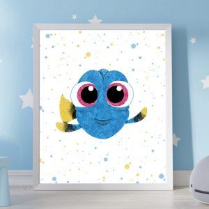 Dory - Nursery Digital Wall Art