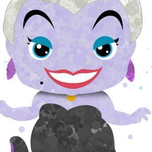 Ursula from Ariel - Wall Decor