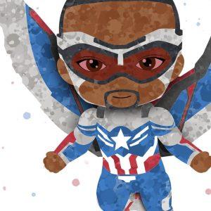 Sam Wilson Falcon - Captain America